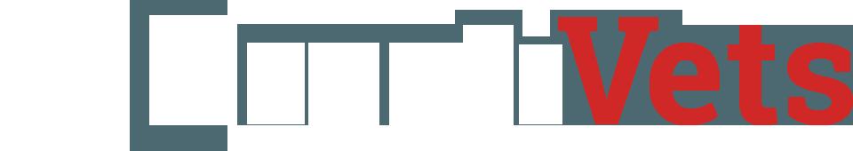 CreatiVets Logo - White